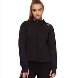 Puma Moto Workout athletic jacket black L NWT